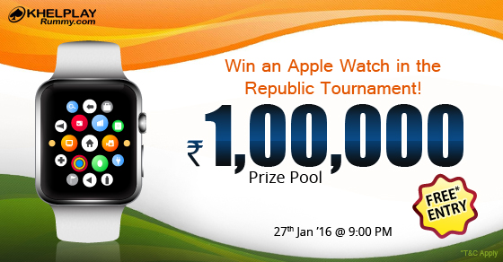 Win Apple iWatch @KhelPlayRummy
