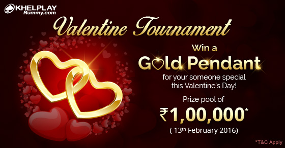 Valentine's Day Rummy Tournament @KhelPlayRummy
