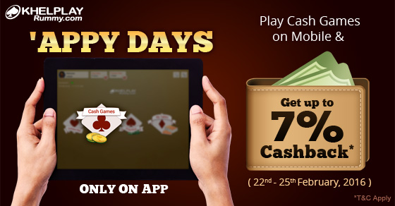 Appy Days @KhelPlay Rummy