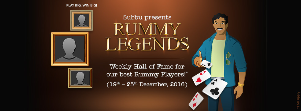 Rummy Legends @ KhelPlay Rummy