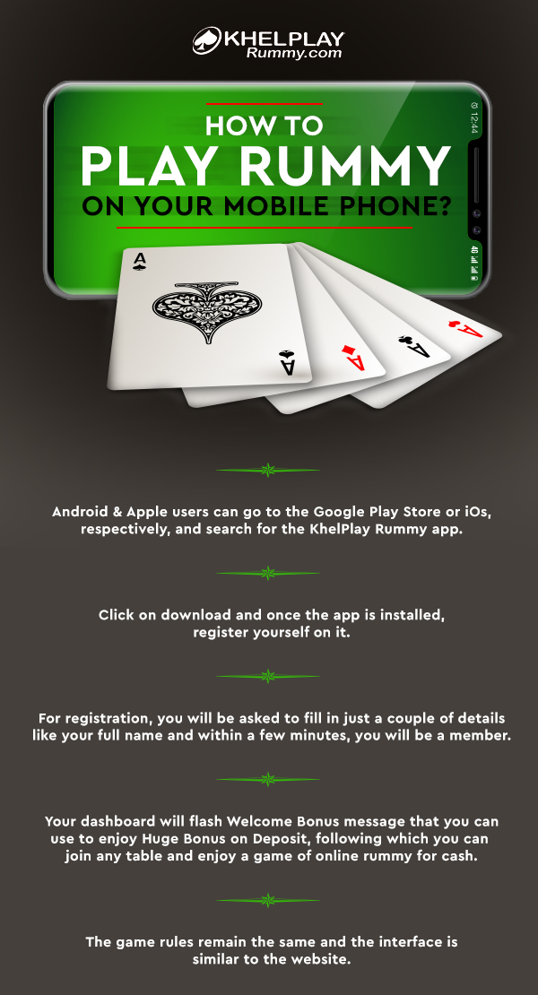 How to Play Rummy on your Mobile Phone?