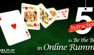 5 Instructions to Be the Best in Online Rummy