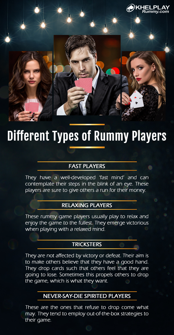 Different Types of Rummy Players