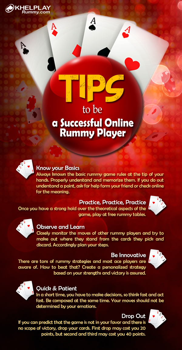 Tips to be a Successful Online Rummy Player