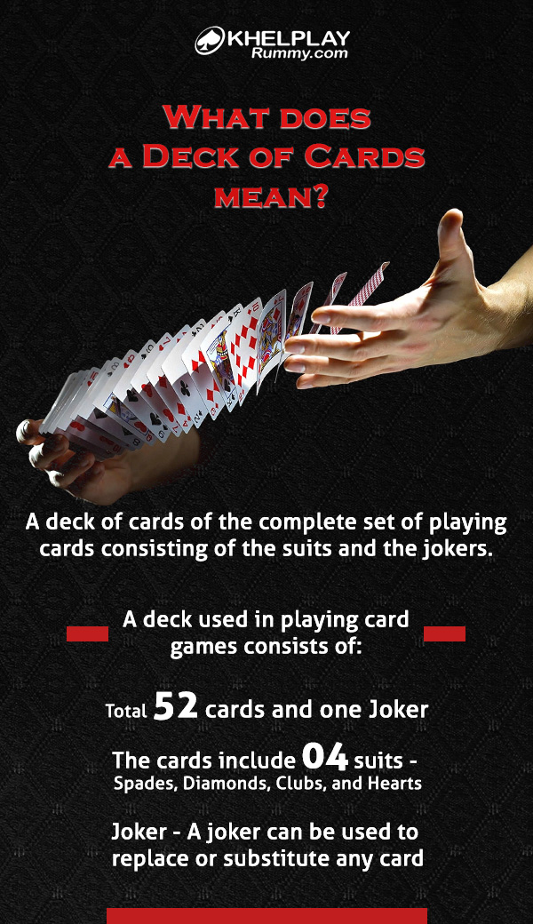 What does a Deck of Cards mean?