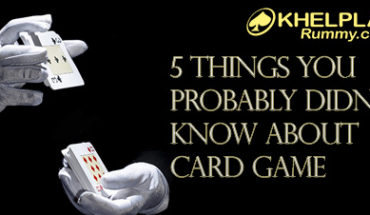 5 Things You Probably Didn't Know About Card Game