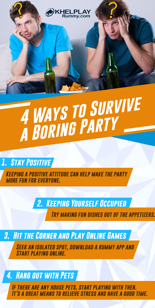4 Ways to Survive a Boring Party