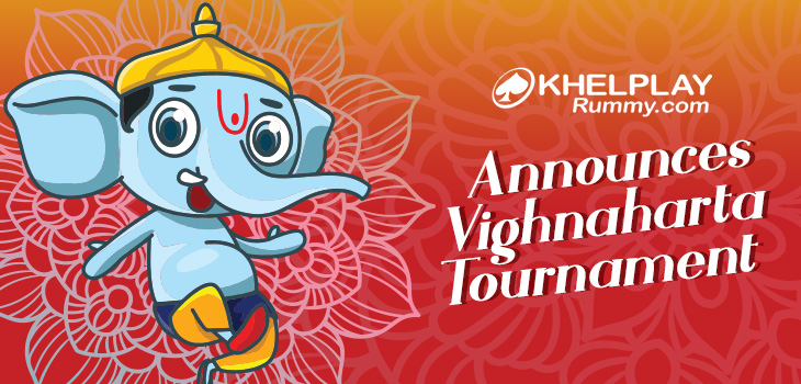 KhelPlay Rummy Announces Vighnaharta Tournament