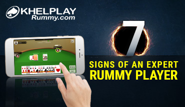 signs of rummy player