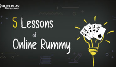 lessons of online rummy